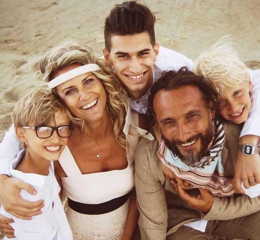 foto della famiglia Vinciguerra